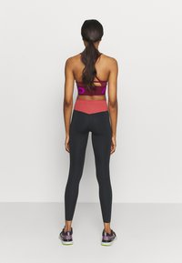 Nike Performance - ONE LUXE - Tights - black/canyon rust - 2