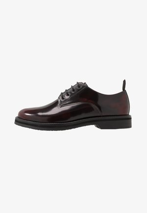 JAZZ DERBY - Business sko - oxblood/black
