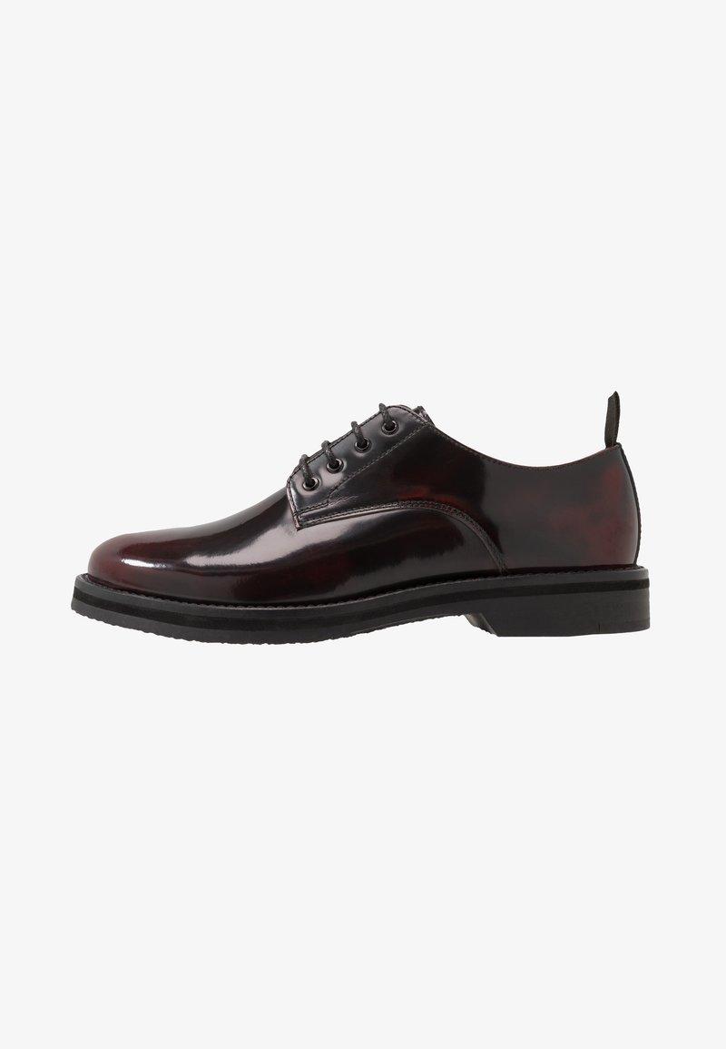 Walk London - JAZZ DERBY - Zapatos con cordones - oxblood/black