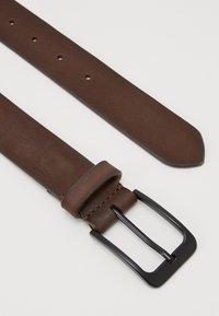 Pier One - LEATHER - Cintura - dark brown - 1