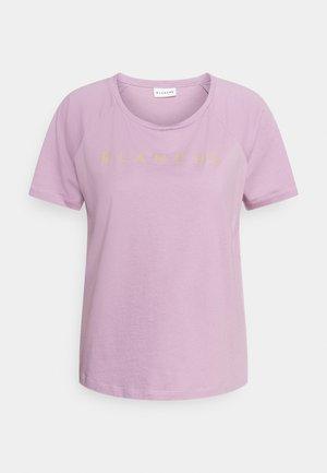 MAIN RAGLAN - Print T-shirt - cinder