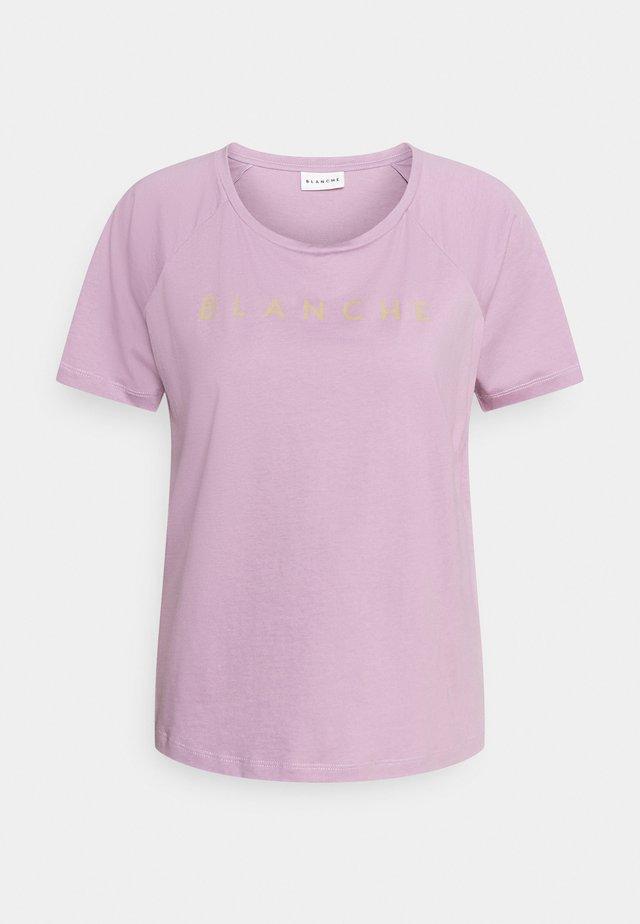 MAIN RAGLAN - T-shirt imprimé - cinder