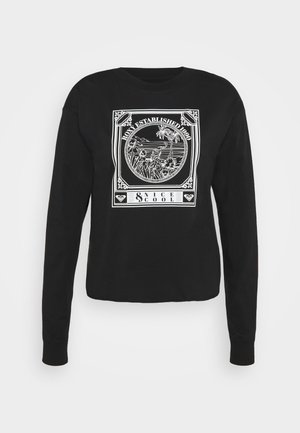 FLY OVER THE WORLD  - Long sleeved top - anthracite