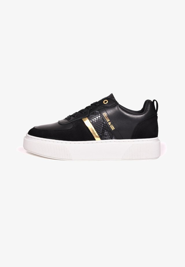 Trainers - black/gold