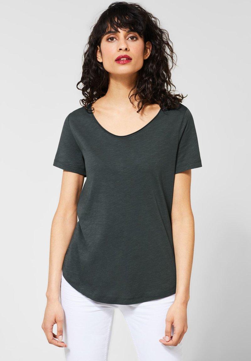 Street One - Basic T-shirt - green