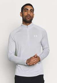 Under Armour - T-shirt de sport - halo gray/white - 0