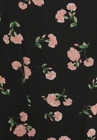 Dorothy Perkins Curve - CURVE PUFF SLEEVE DRESS - Maxi dress - multi - 2