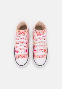 Converse - CHUCK TAYLOR ALL STAR HEARTS  - High-top trainers - storm pink/natural ivory/white - 3