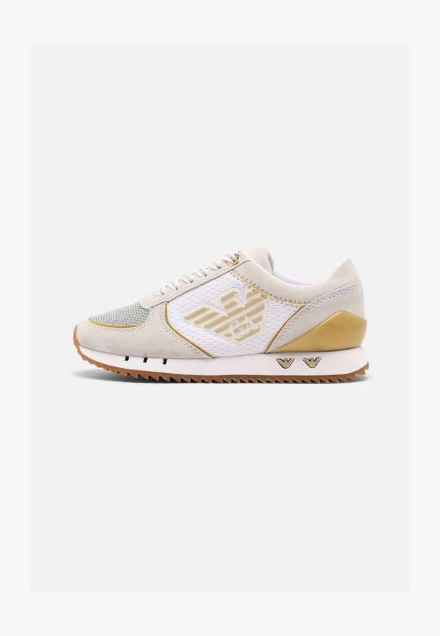 UNISEX - Sneakersy niskie - white/yellow