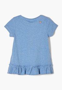 s.Oliver - Print T-shirt - light blue melange - 1