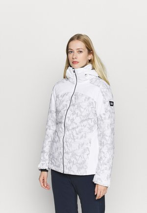 WAVELITE JACKET - Kurtka snowboardowa - powder white