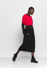 Calvin Klein Performance - CROPPED  - Print T-shirt - red - 1