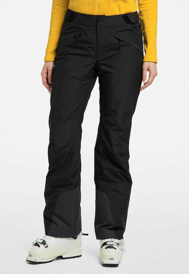 LUMI FORM PANT - Snow pants - true black