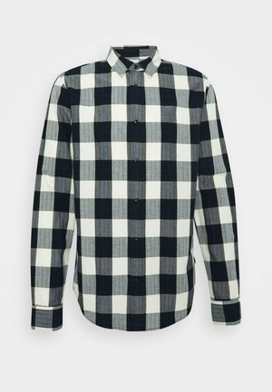 REGULAR FIT- CLASSIC CHECK  - Overhemd - black,white
