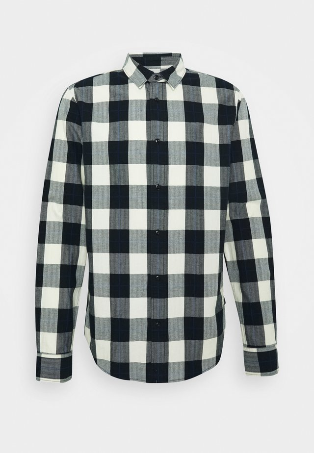 REGULAR FIT- CLASSIC CHECK  - Hemd - black,white
