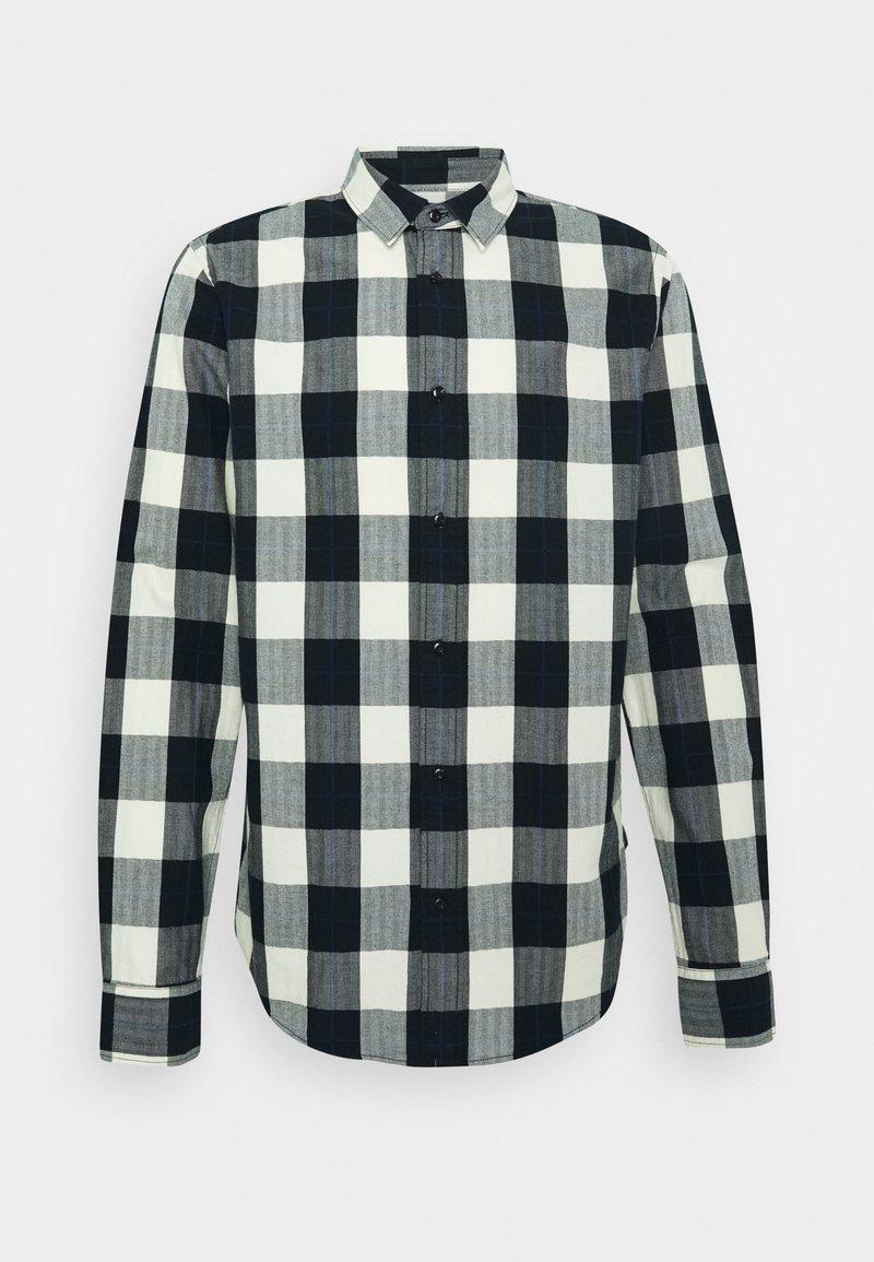 Scotch & Soda - REGULAR FIT- CLASSIC CHECK  - Shirt - black,white