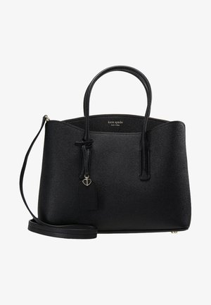 MARGAUX LARGE SATCHEL - Across body bag - black