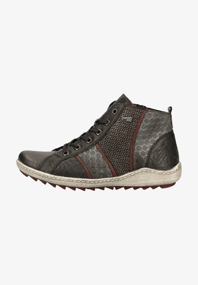 Baskets montantes - schwarz/asphalt/ 01