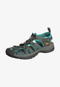 Keen - WHISPER WOMEN - Walking sandals - dark shadow/ceramic - 1