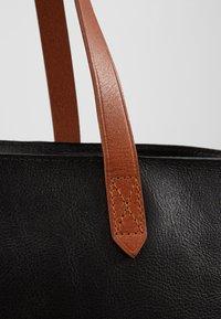 Madewell - ZIP TOP TRANSPORT TOTE - Tote bag - true black/brown - 2
