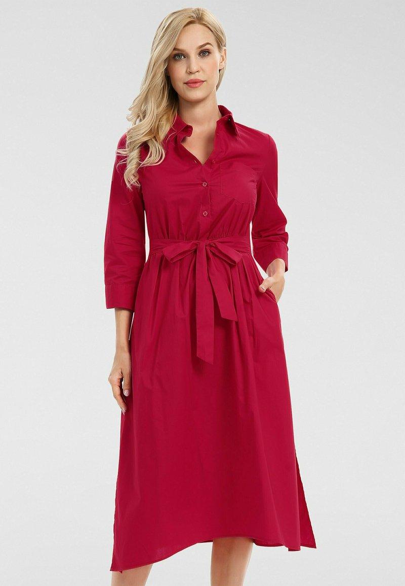 Apart - Robe chemise - rot