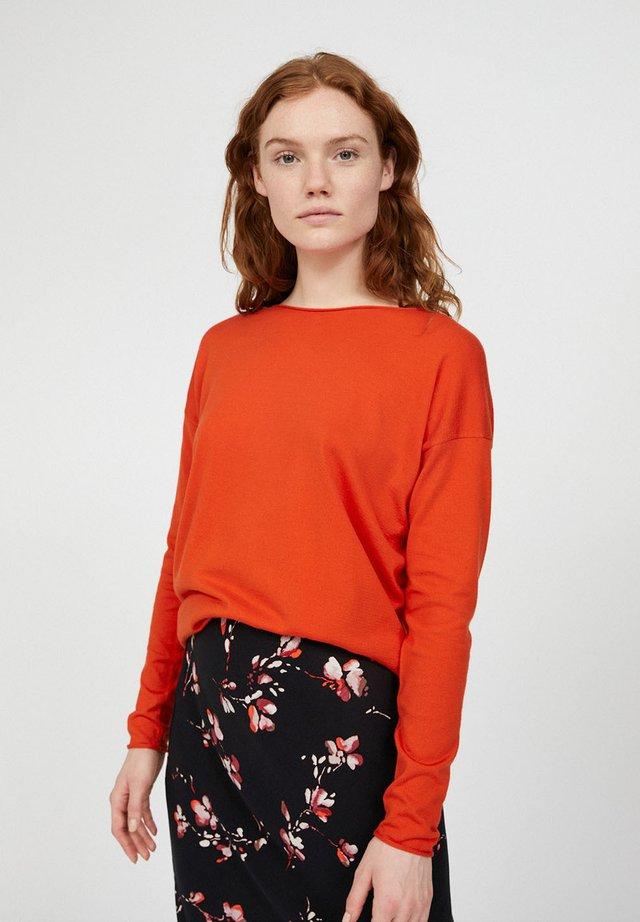 LADAA - Jumper - glossy orange