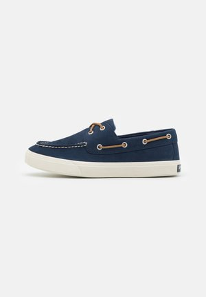BAHAMA PLUSHWAVE - Boat shoes - navy