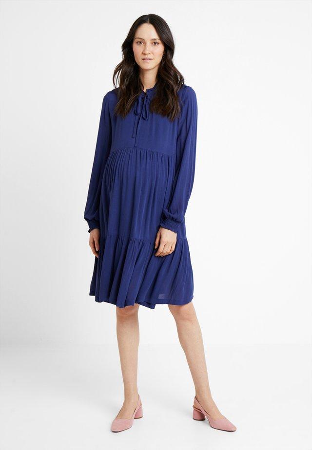 DRESS - Kjole - medieval blue