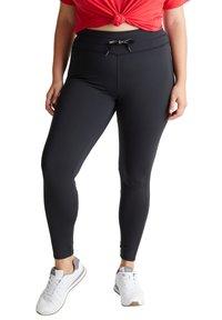 Esprit Sports - CURVY - Leggings - black - 5