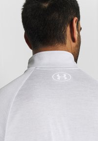 Under Armour - Sports shirt - halo gray/white