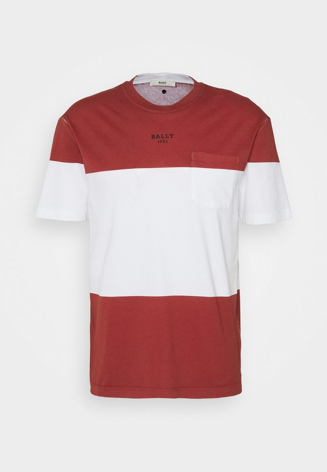 T-shirt imprimé - red
