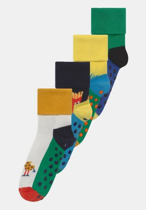 MONSTERS & FOOD FRIENDS 4 PACK UNISEX - Calcetines - multi-coloured