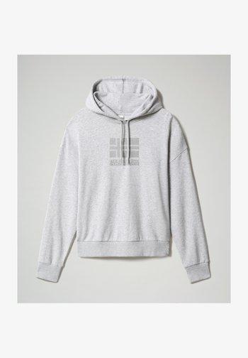 BEOL  - Hoodie - light grey melange