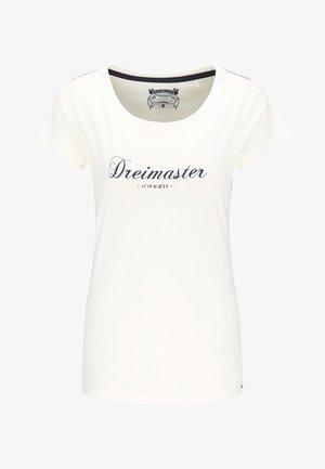 MIT PRINT - Camiseta estampada - white
