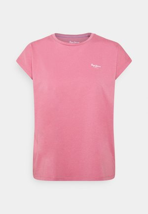 BLOOM - Basic T-shirt - washed berry