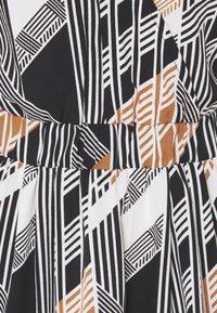 ICHI - BRUCE - Day dress - black print - 2