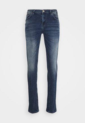 SMARTY - Jeans slim fit - dark blue denim