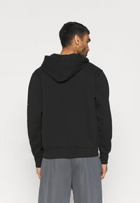 Nike Performance - NBA LA LAKERS LOGO HOODIE - Klubbkläder - black - 2