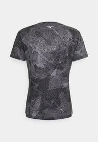 Mizuno - AERO TEE - Sports shirt - black - 1