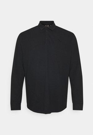 LONG SLEEVE - Polo shirt - black