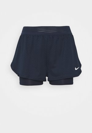 DRY SHORT - Sports shorts - obsidian/white