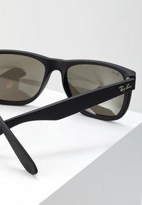 Ray-Ban - JUSTIN - Sunglasses - light brown mirror gold/black - 2
