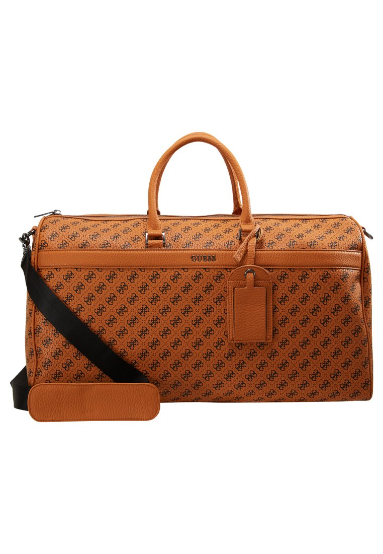 Guess CITY LOGO WEEKENDER Weekendveske orange Zalando.no