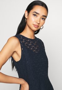 Vero Moda - VMALLIE SHORT DRESS - Day dress - navy blazer - 3
