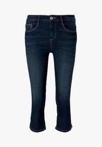 TOM TAILOR - Denim shorts - used mid stone blue denim - 6