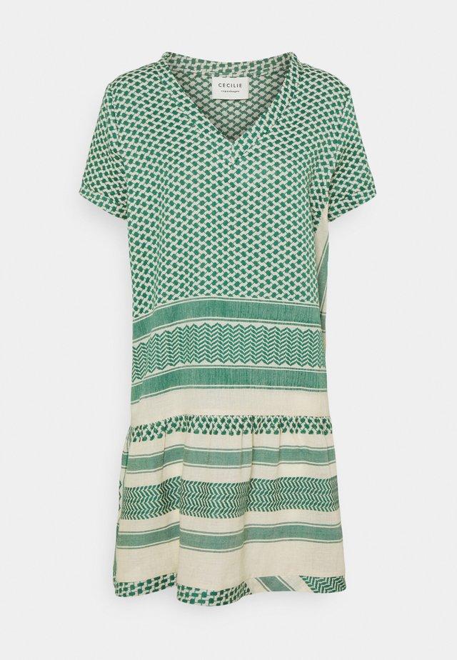 DRESS - Robe d'été - pepper/cream