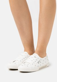 Pepe Jeans - ABERLADY SWEET - Trainers - offwhite - 0