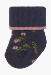 Ewers - NEWBORN OWL 6 PACK - Socks - marone/latte - 1