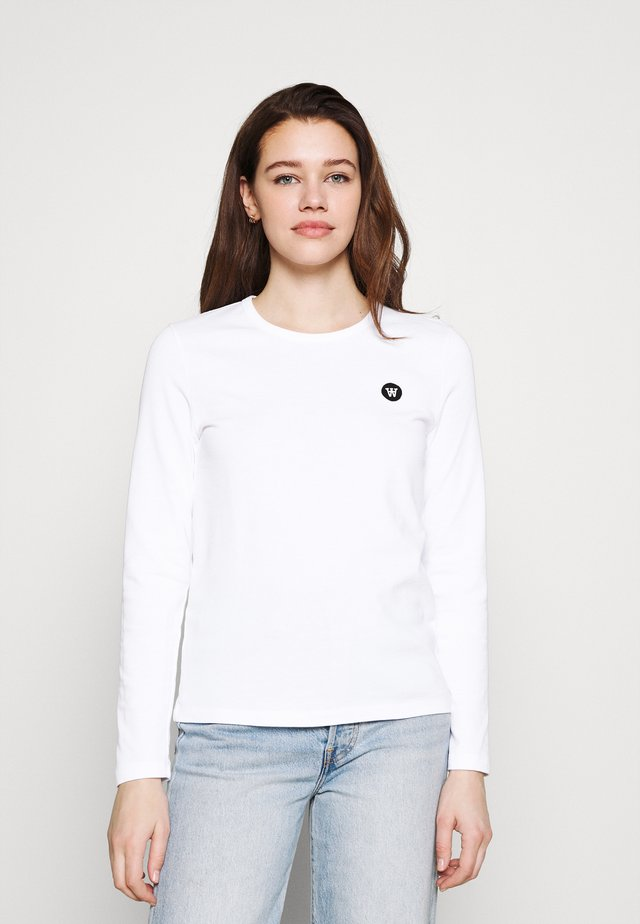 MOA LONG SLEEVE  - T-shirt à manches longues - bright white