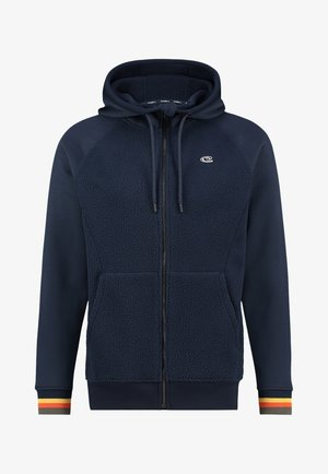 Zip-up hoodie - ink blue